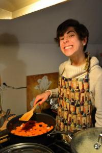 Cooking my first Christmas feast. Yup I smile like that most of the time