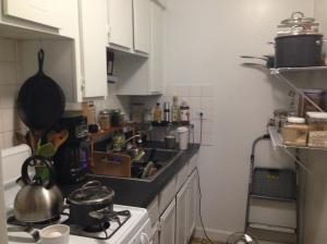 Tiny kitchen, but I make it work!