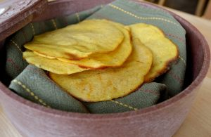 Gluten and Egg Free Taco Shells