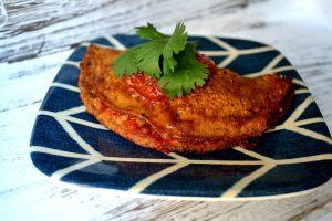Lentil Taco Filled Empanada