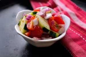 Tomato and Cucumber Salad | Life Healthfully Lived