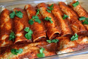 Butternut Squash & Black Bean Enchiladas | Life Healthfully Lived