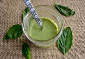 DIY Wednesday: Basil Salad Dressing | Life Healthfully Lived