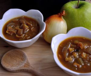Caramelized Onion and Roasted Apple Soup | Life Healthfully Lived