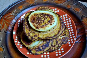 Gluten-Free Apple Ring Pancakes | Life Healthfully Lived