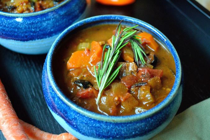 Roasted Pepper Vegetable Tomato Soup   Life Healthfully Lived