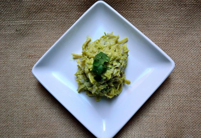Creamy Avocado Fettuccine | Life Healthfully Lived