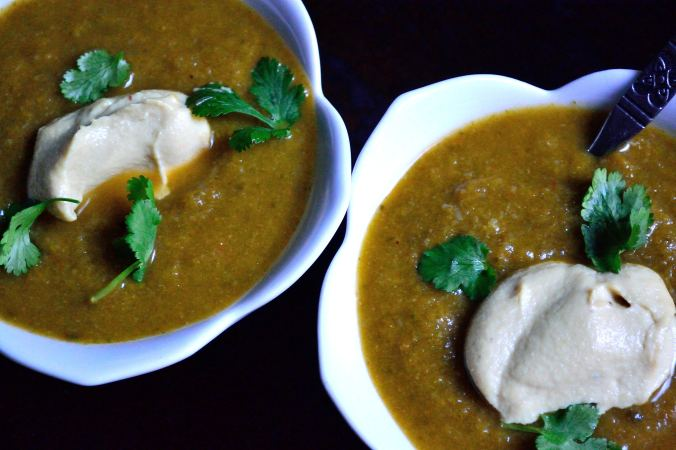 Creamy Broccoli Spinach Soup | Life Healthfully Lived
