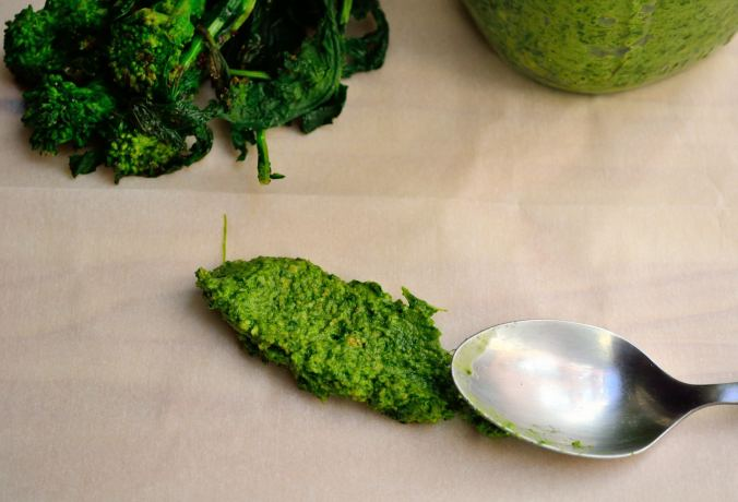 Broccoli Rabe Pesto | Life Healthfully Lived