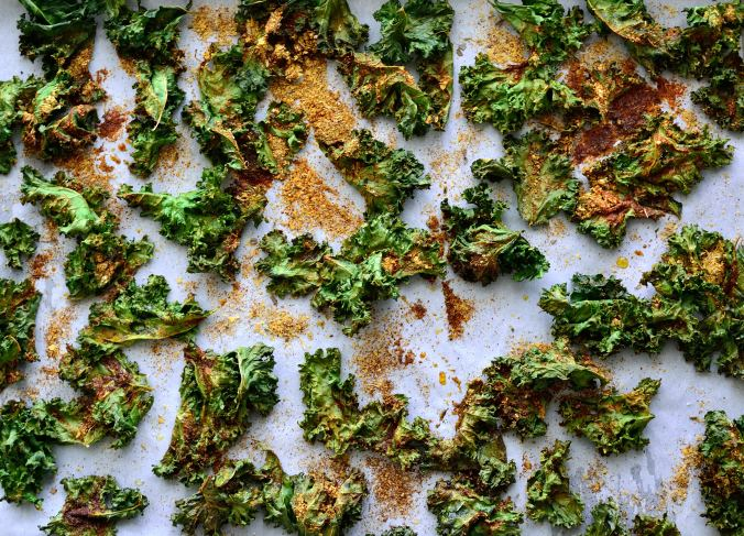DIY Wednesday: Pizza Kale Chips | Life Healthfully Lived