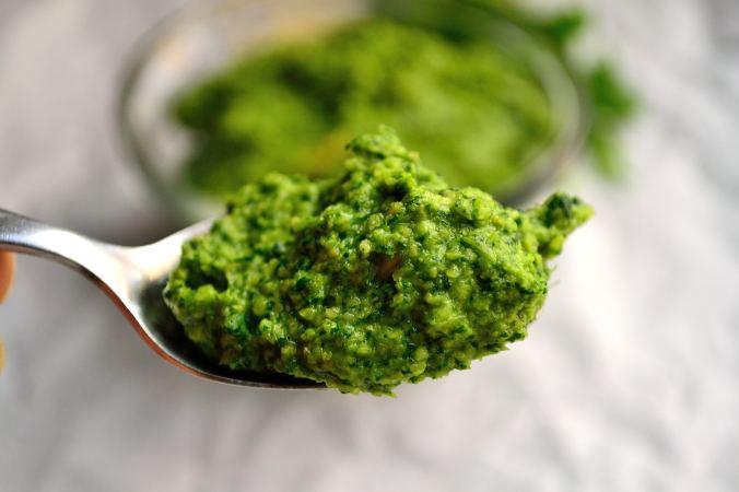 Oil-Free Cilantro Lime Pesto | Life Healthfully Lived