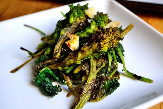 Balsamic Roasted Broccoli Rabe | Life Healthfully Lived