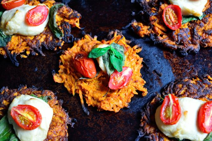 Sweet Potato Caprese Pizza | Life Healthfully Lived