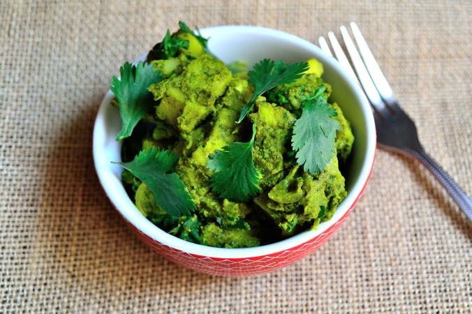 Yuca & Spinach Curry | Life Healthfully Lived