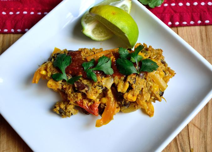 Mexican Bell Pepper Casserole | Life Healthfully Lived