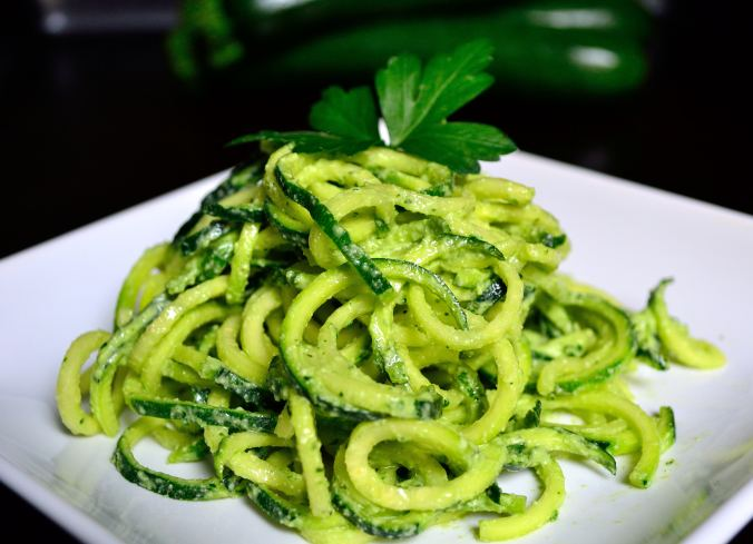 DIY Wednesday: Parsley Cream Zoodles | Life Healthfully Lived