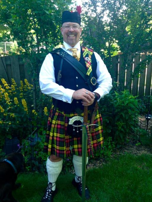 Weekend Recap: Scottish Fest & Father's Day