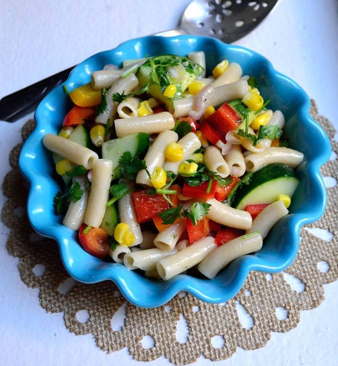 Citrus Vegetable Pasta Salad | Life Healthfully Lived