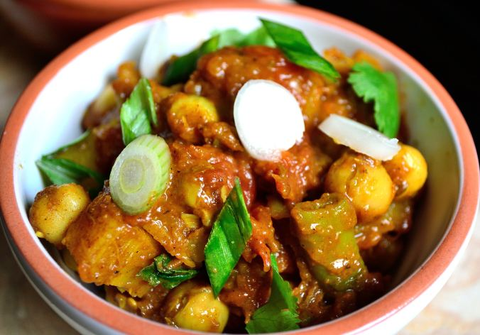 Chickpea and Yuca Curry | Life Healthfully Lived