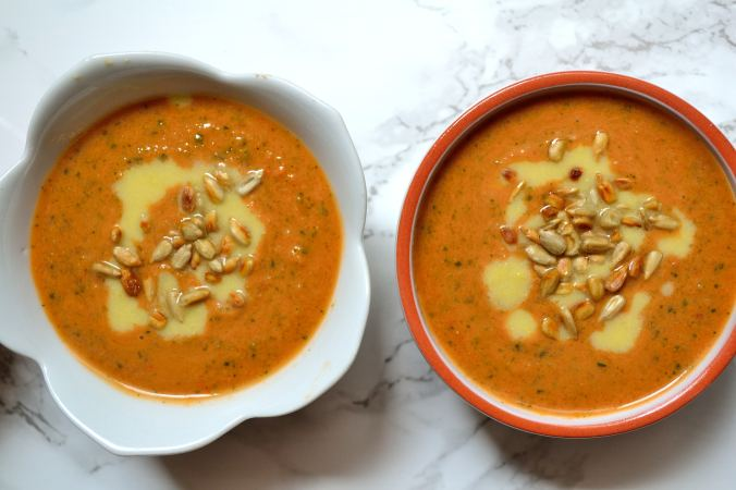 Quick & Simple Gazpacho   Life Healthfully Lived