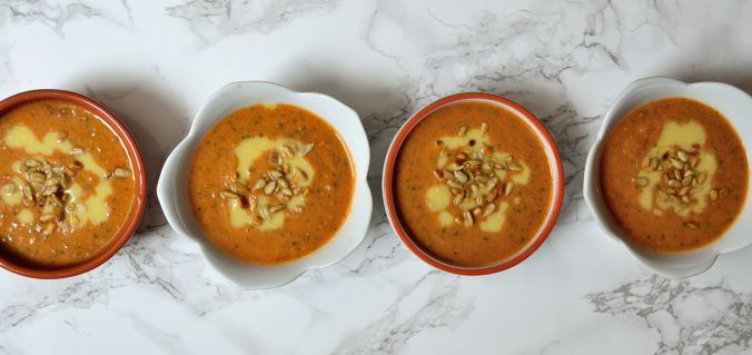 Simple & Quick Gazpacho   Life Healthfully Lived