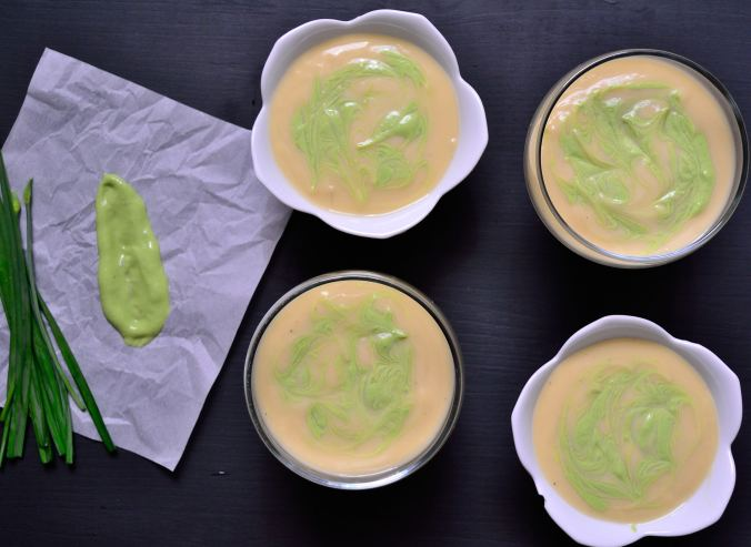 Vichyssoise with Garlic Chive Sauce | Life Healthfully Lived