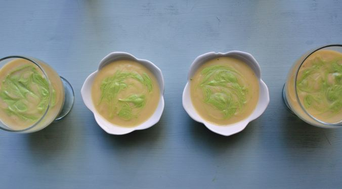 Vichyssoise with Garlic Chive Drizzle | Life Healthfully Lived