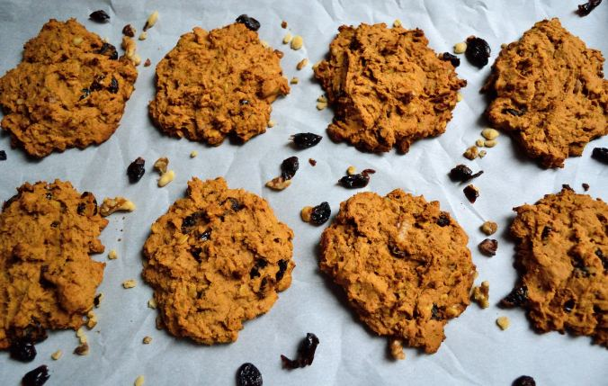 Pumpkin Cranberry Cookies | Life Healthfully Lived