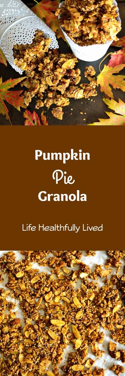 Pumpkin Pie Granola | Life Healthfully Lived