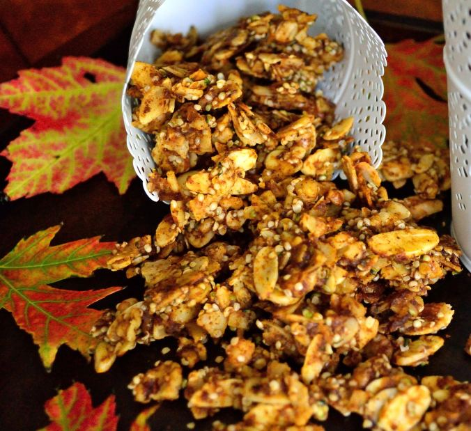 Pumpkin Pie Granola | Life Healthfully Lived