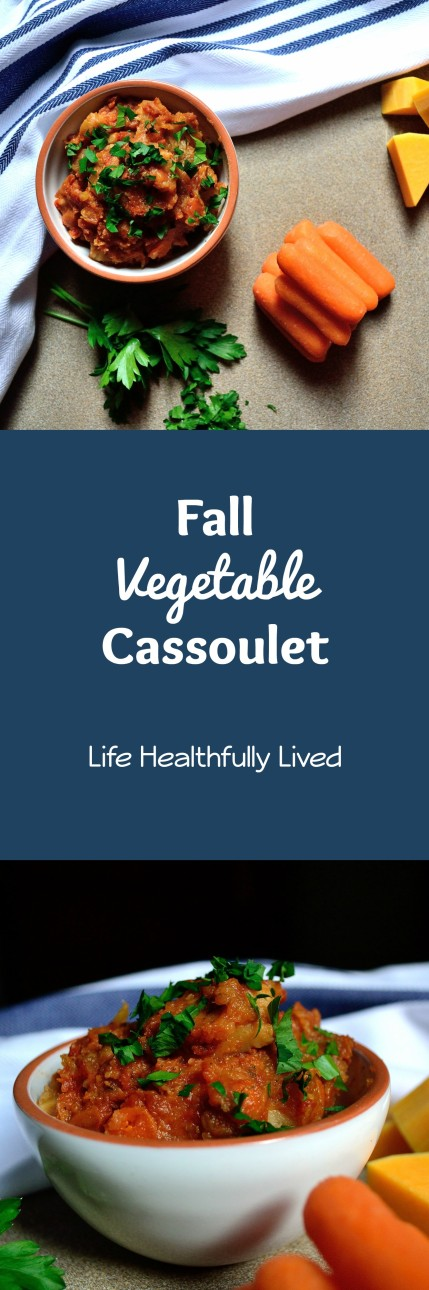 Slow Cooker Fall Vegetable Cassoulet | Life Healthfully Lived