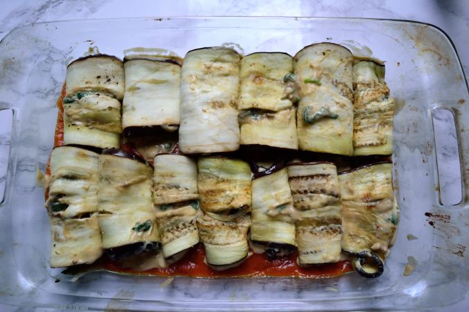 Autumn Eggplant Rollatini | Life Healthfully Lived