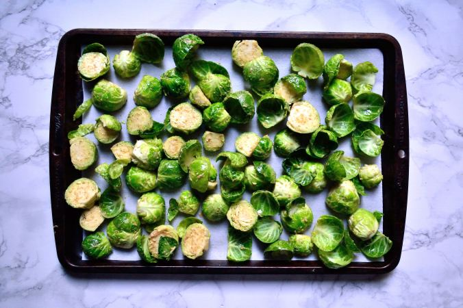 Mustard Roasted Brussels Sprouts | Life Healthfully Lived