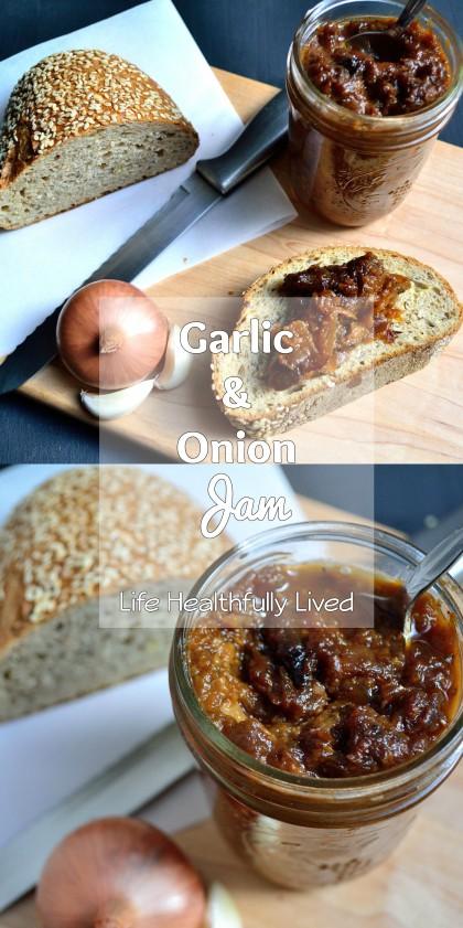 Garlic & Onion Jam | Life Healthfully Lived