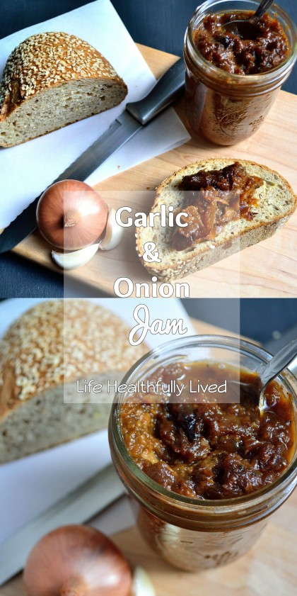 Garlic & Onion Jam | Life Healthfully Lived