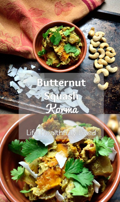 Butternut Squash Korma | Life Healthfully Lived