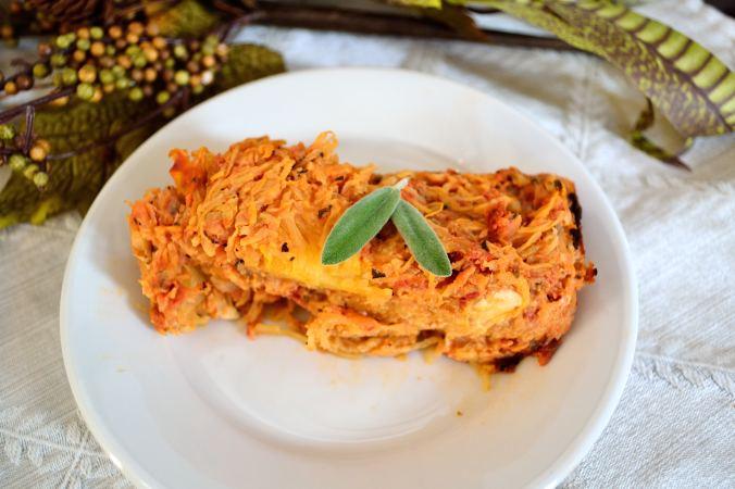 Spaghetti Squash Lasagna Casserole | Life Healthfully Lived