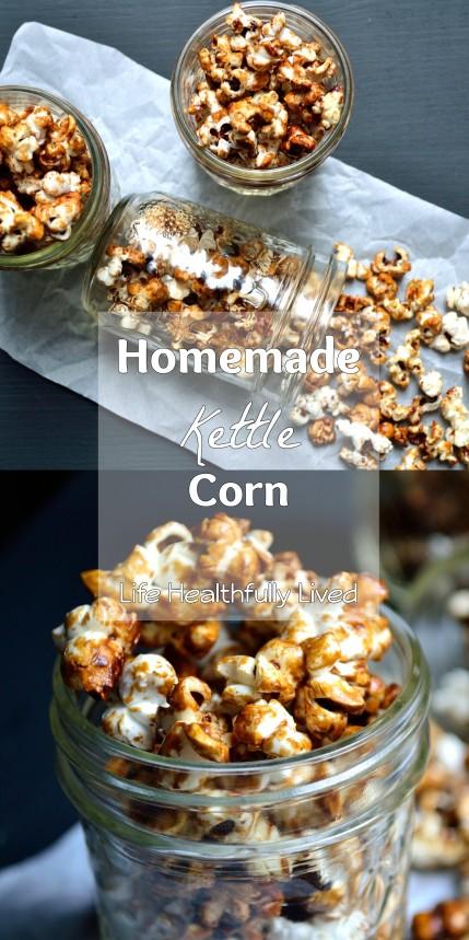 Homemade Kettle Corn | Life Healthfully Lived