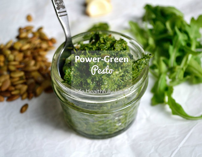 Power-Green Pesto | Life Healthfully Lived