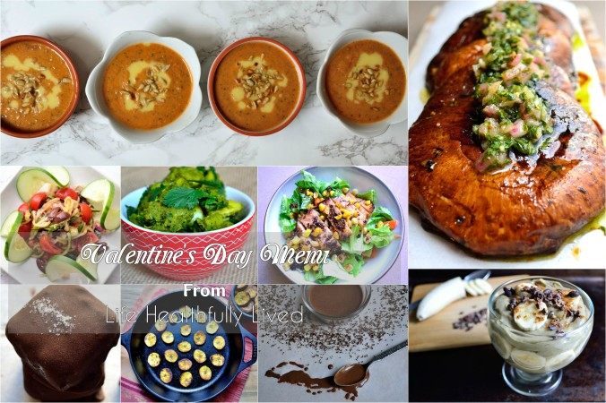 Valentine's Day Menu | Life Healthfully Lived