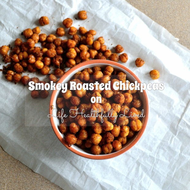 Smokey Roasted Chickpeas | Life Healthfully Lived