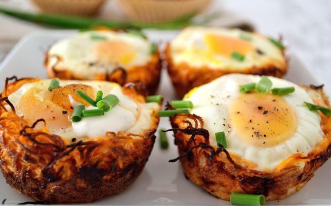 Sweet Potato Egg Nests | Life Healthfully Lived