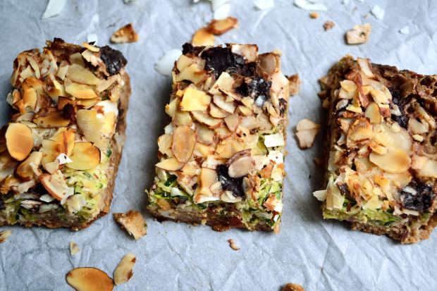 Zoodle Cookie Bars | Life Healthfully Lived