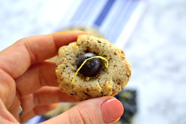 Blueberry & Lemon Tea Cookies   Life Healthfully Lived