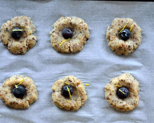 Blueberry & Lemon Tea Cookies | Life Healthfully Lived