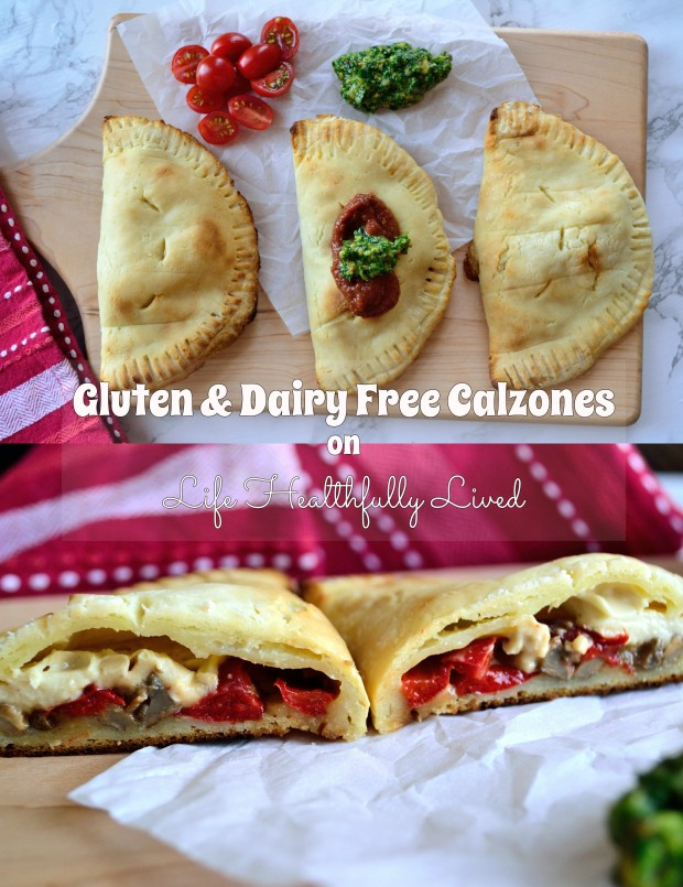Gluten & Dairy Free Calzones | Life Healthfully Lived
