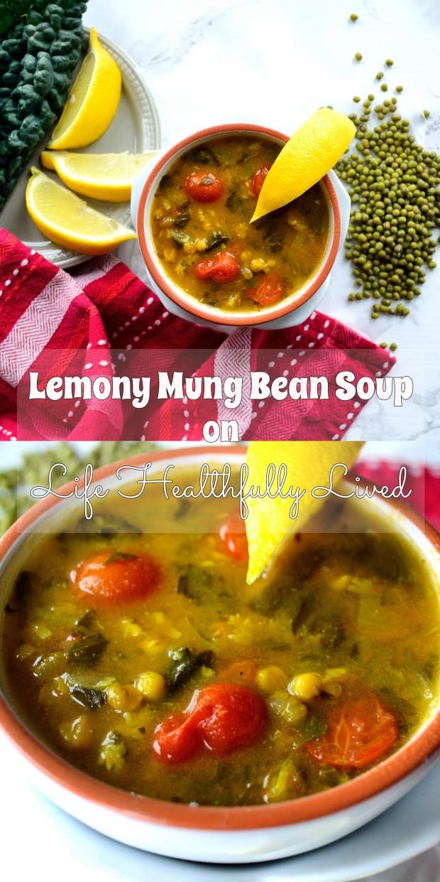 Lemony Mung Bean Soup | Life Healthfully Lived
