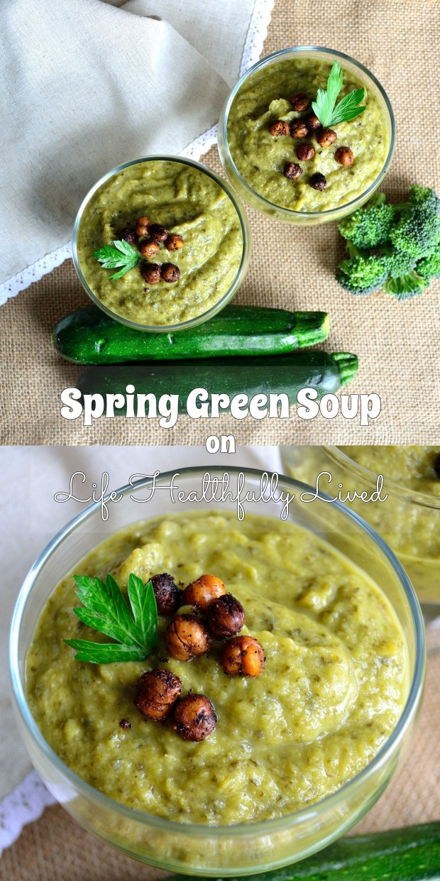 Spring Green Soup | Life Healthfully Lived