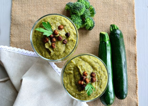 Spring Green Soup   Life Healthfully Lived