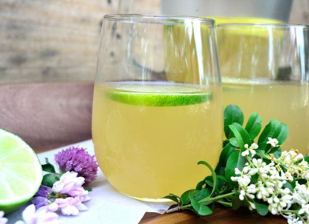 Iced Lemon-Lime Green Tea | Life Healthfully Lived